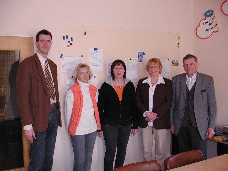 Sozialstation Übergabe 02-01-06